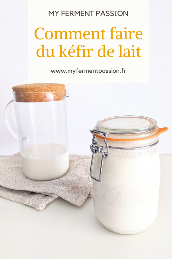 kéfir de lait bocal
