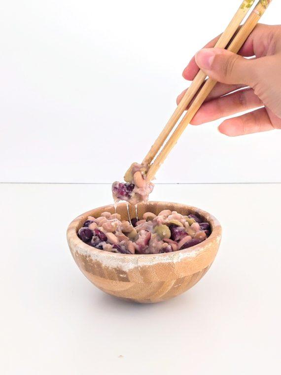 natto fermentation légumineuses